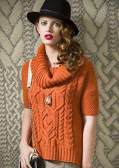 Ravelry: #15 Cowl Neck Top pattern by Norah Gaughan in Berroco Ultra Alpaca