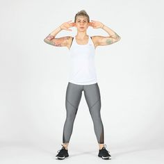 Combine cardio and strength moves in this total-body walking plan. Squat Challenge, Body Challenge, Strength Workout, Strength Training, Lunges, Squats, Pyramid Workout, Push Up Workout, Walking Plan