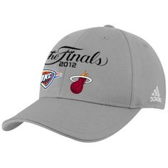 OKC Thunder vs. Miami Heat 2012 NBA Finals Dueling Hat