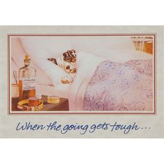 The Tough Get Going Get Well Greeting Card