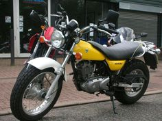 Suzuki Van Van 125 Suzuki Van Van, Cool Motorcycles, Vroom Vroom, Rockets, Biker, Kittens, Mary, Cool Stuff, Vehicles