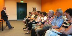 Gespräch mit Besuchergruppe aus dem Eichsfeld im Reichstag am 25. Jahrestag des Bonn-Berlin-Beschlusses.