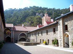 Kykkos Monastery - Troodos mountains - Cyprus