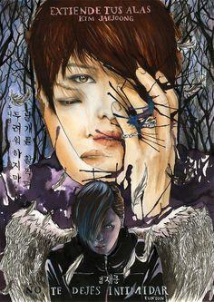 Jaejoong Fanart - Spread Your Wings by VeRoaYm.deviantart.com on @deviantART (25/01/13)