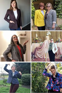 Round up of Blazers of Glory // Jasika Blazer // Closet Case Patterns Super Troopers, Custom Dresses, Kind Words, Cool Patterns, New Image, Blazers, The Past, Bring It On, Product Launch