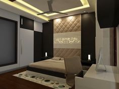 Ideas Bedroom Interior Ideas Layout Headboards For 2019 Modern Bedroom Design, Bed Design, Accent Wall Bedroom, Bedroom Decor, Bedroom Ideas, Diy Closet Doors, Interior Ideas, Interior Design, Down Comforter