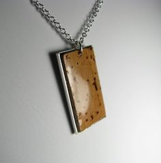Cork Necklace by SarahrachaCorks on Etsy, $15.00