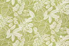 HC9925 Grass/Cream Floral Canvas