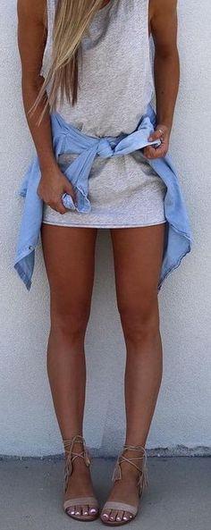 Loving those wrap sandals