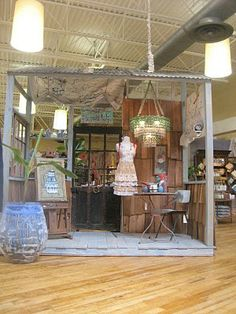 love you in the fall ;: anthropologie displays