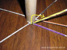 venček obr. č.3 - pletieme cez dve trubičky
