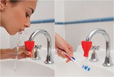 Tap squeeze drinking fountain - $5.95. Definately need one of these (maybe two)!