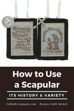 Scapulars have been worn by the lay faithful as a sign of faith and devotion since the Middle Ages. Learn more about its history, symbolism, and many varieties at the link!