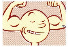 Thilo Rothacker: Self Estime | Über das Selbstvertrauen. Veröffentlicht in der Frankfurter Allgemeinen Sonntagszeitung. | Format: DIN A3, ohne Rahmen | Auflage: 25 Stück, signiert | erhältlich bei www.kultstuecke.com