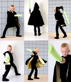 Simple LUKE SKYWALKER costume on MADE