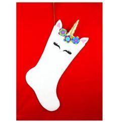 Handmade Fabric Owl Doorstop, Cotton and Felt Owl Bookend, Owl Decor, Retro Design Fabric Design Christmas Stocking Decorations, Diy Christmas Gifts, Christmas Time, Stocking Decorating, Decorating Ideas, Felt Stocking, Stocking Ideas, Owl Doorstop, Christmas Unicorn