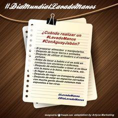 #LavadoManos #ConAguayJabón