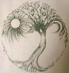 tree tattoo - <3
