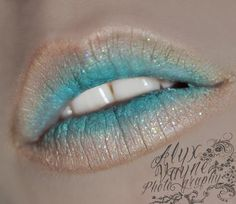 Today, we find makeup lipsticks ideas that make you fall in love. Explore the best 60 fantasy lip art ideas and lipsticks ideas of all time. Pastel Lips, Ombre Lips, Blue Lips, Fairy Makeup, Mermaid Makeup, Mermaid Mermaid, Lip Art, Fashion Make Up, High Fashion