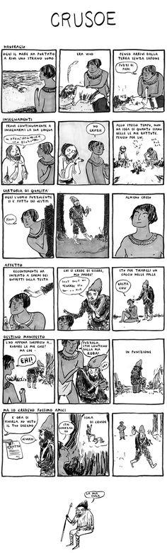 """""""Hark! A Vagrant"""" è un celebre webcomic dell'artista canadese Kate Beaton, che ci ha gentilmente concesso la possibilità di tradurre e presentare il suo lavoro al pubblico italiano. (Gli altri episodi sono qui) Kate Beaton è nata in Nova Scotia, ha preso una laurea in Storia nelNew Brunswick, ha finito di pagarla in Alberta, ha lavorato in un museo in British Columbia, si è spostata in Ontarioper disegnare, poiad HalifaxLeggi Articolo"""