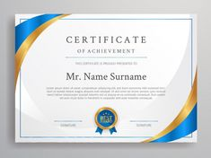 Certificate Border, Certificate Of Achievement Template, Certificate Design Template, Certificate Frames, Printable Certificates, Basic Software, Award Template, Border Templates, Text Frame