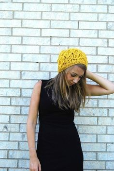 Slouchy hat from yesjess.etsy.com