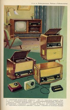 In the TV's began to be found in almost every American household. TV's changed the way American's received news and entertainment. Unlike today's TV's with hundreds of channels, in the TV's had close to 3 channels that were not always active.