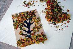 Using Leaf Glitter