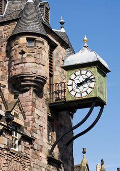 The Royal Mile, Edinburgh, Scotland