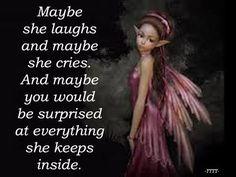 Everything she keeps inside