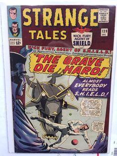 Strange Tales (Dec Marvel) for sale online Nick Fury, Strange Tales, Doctor Strange, Dum Dum Dugan, Fantastic Four Marvel, Jim Steranko, Silver Age Comics, Steve Ditko, Human Torch