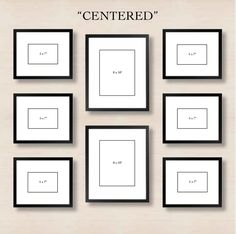 Stuck with a blank wall in your home? Take a look at 6 different ways to set up your gallery wall.