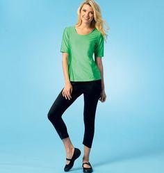 K4044, Misses' Tops, Shorts and Pants