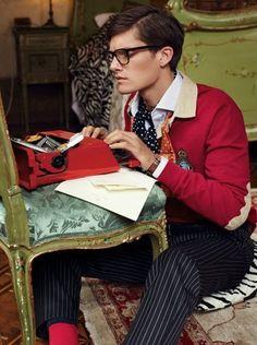 The editorial writer. Sharp Dressed Man, Well Dressed, Preppy Style, My Style, Indie, Editorial, Life Magazine, Gentleman Style, Hot Boys