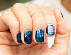 Galaxy nails! tight. #nails