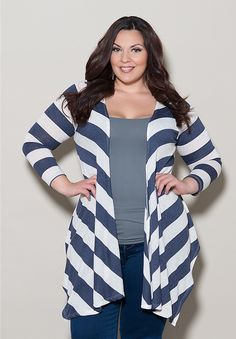 Jill Cardigan $49.90 by SWAK Designs #swakdesigns #PlusSize #Curvy