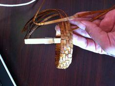 Cedar weAved bracelet. Lummi