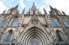 Katedra św. Eulalii w Barcelonie – Mapy Google
