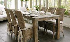 Wicker Dining Chairs | Cassellas Kitchen