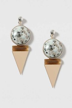 Elevate any outfit with a statement earring. We'll be wearing these with a lightweight shirt and mom jeans. #Topshop
