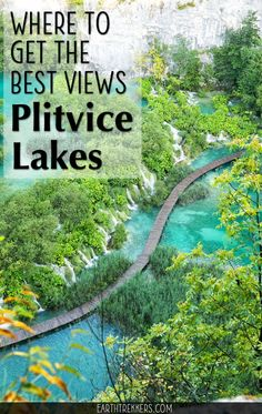 Plitvice Lakes is a magical place with turquoise lakes waterfalls and boardwalk trails. Learn how to get the best views in the park how to manage your time and how to avoid the crowds. babies flight hotel restaurant destinations ideas tips Croatia Travel Guide, Croatia Itinerary, Europe Travel Tips, Italy Travel, European Travel, Dubrovnik, Montenegro, Plitvice Lakes National Park, Seen