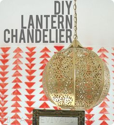 Vintage Revivals is at it again! Here she shows us how to DIY from Candle Lantern to Chandelier In 3 easy steps!