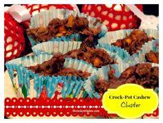 Crock-Pot Cashew Candy Clusters {via CrockPotLadies.com}