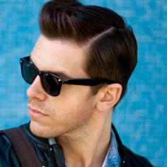 """Men with thick hair, always find it difficult to style. The latest and trendiest medium length hairstyle, thatRead More """"Modern Pompadour Hairstyles"""" Mens Haircuts Pompadour, Pompadour Men, Pompadour Hairstyle, Men Undercut, Hairstyle Men, Hairstyle Ideas, Popular Mens Hairstyles, Hairstyles Haircuts, Medium Hairstyles"""