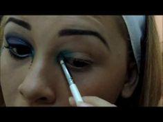 Maquiagem Para Carnaval 2014 - Colorida