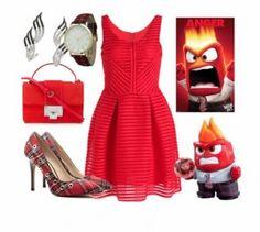 Outfit Furia... #pixar #1001consejos #moda