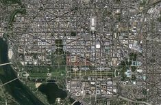 Strange, Beautiful and Unexpected: Planned Cities Seen From Space (DC)