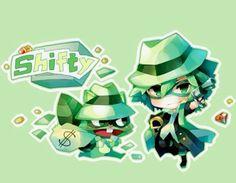 Happy Tree Friends (HTF)- Shifty #Anime Htf Anime, Chibi Anime, Happy Tree Friends Flippy, Happy Friends, Friend Anime, Free Friends, Anime Version, Woodland Creatures, Fandoms