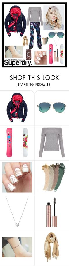"""""""The Cover Up – Jackets by Superdry: Contest Entry"""" by careyjohnson-cj ❤ liked on Polyvore featuring Superdry, Burton, Tiffany & Co., DC Shoes, New Look, Gucci, Links of London and Unpaired"""