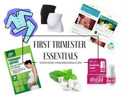 5 First Trimester Essentials! | Emily and Indiana, Pregnancy essentials for the first trimester.